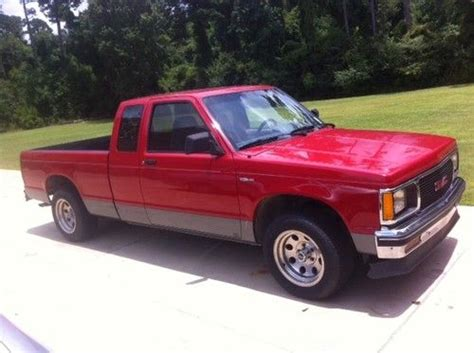 sell used 1993 gmc sonoma sle extended cab 2 door