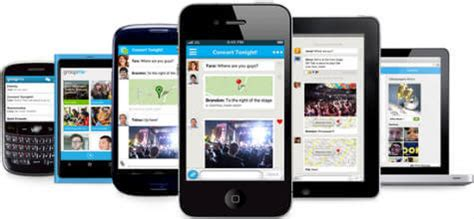chat between iphone and android six free apps to chat between iphone and android