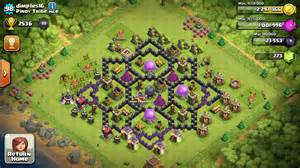 Best town hall 8 farming base 2015