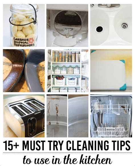 15 wonderfully simple kitchen cleaning tips spring cleaning tips for the kitchen thirty handmade days