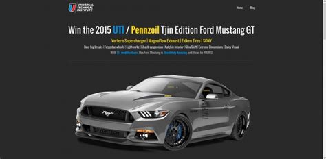 Uti Mustang Sweepstakes - 2015 uti mustang sweepstakes a ford mustang gt could be yours