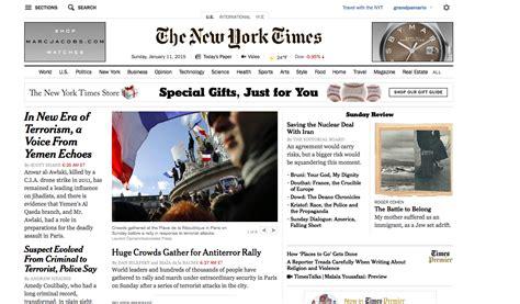printable version of new york times blog the new york times sunday edition print versus