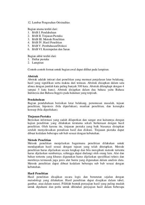 tesis dan antitesis adalah panduan penulisan tesis dan disertasi