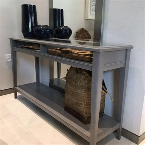 Ikea Liatorp Console Table In Grey Home Furniture Liatorp Sofa Table