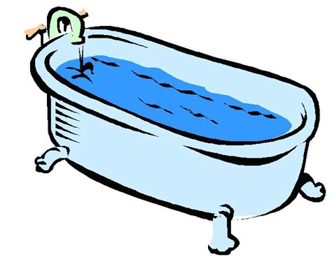 clipart bathtub english exercises the home 1