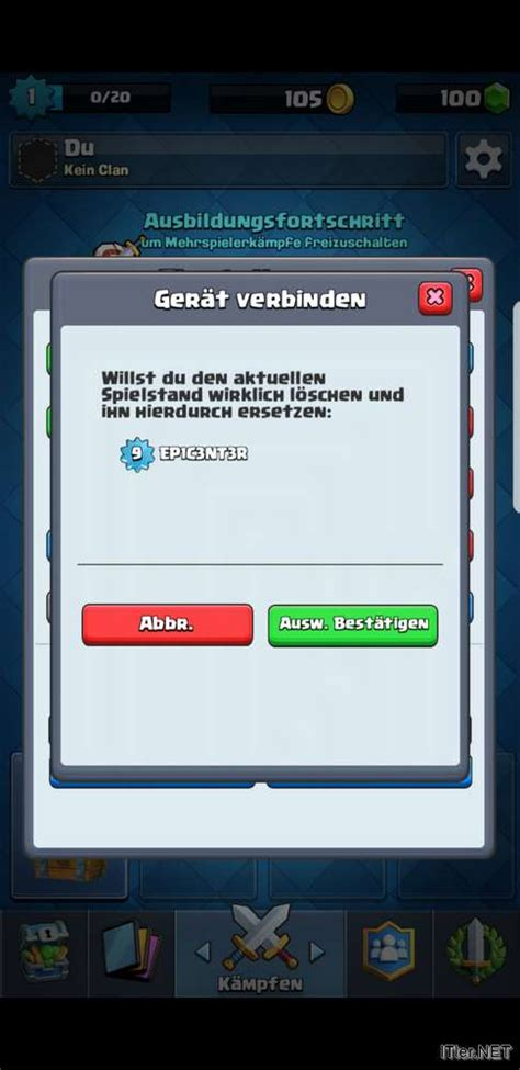 android account clash royale ios und android account verbinden