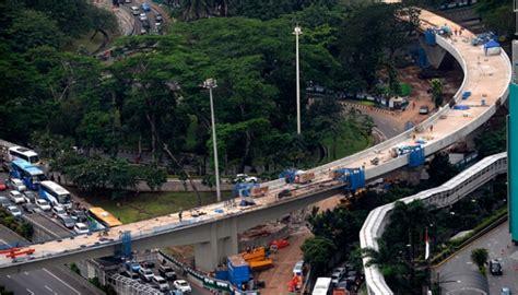 simpang susun semanggi  persen pt wika beroperasi akhir juli metro tempoco