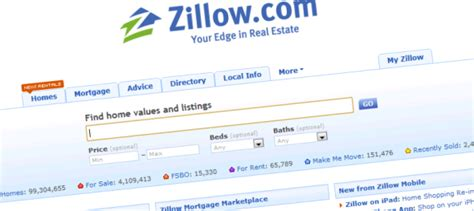 zillow partners with yahoo real estate and extends