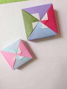 origami fancy box origami square box 2 lid 2 fancy pinwheels tomoko fuse