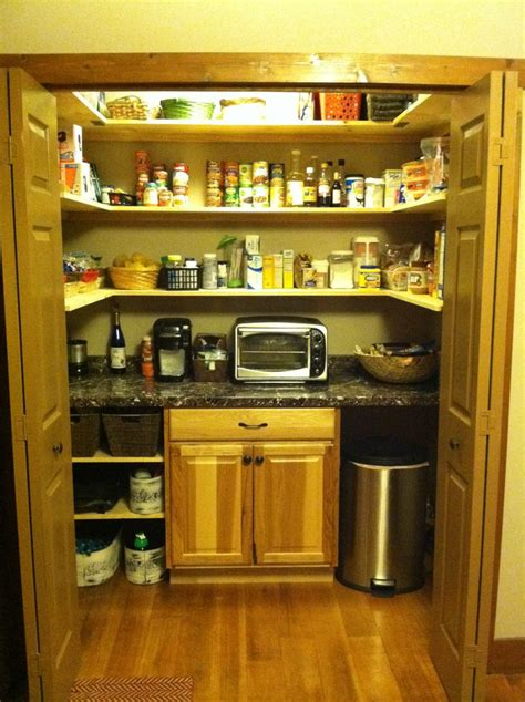 converted laundry closet  pantry home pinterest