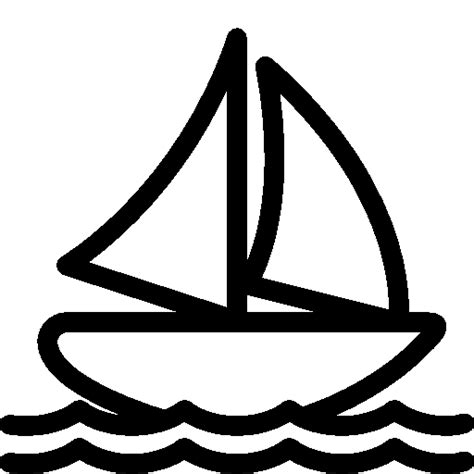 boat icon png white transport sail boat icon ios 7 iconset icons8