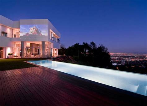 Houses In The Hills by Hollywood Hills