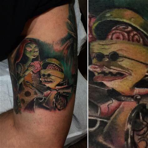 tattoo nightmares dvd nightmare before christmas by saint karlos tattoonow