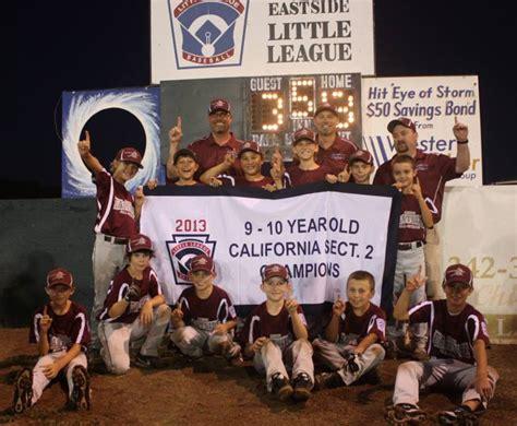 section 2 little league california newstalk1290 kpay