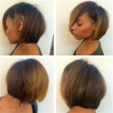 african american short bob hairstyles back of head 36 short hairstyles that are a cut above the rest