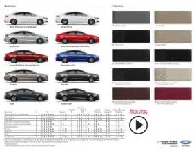 2015 ford fusion colors 2015 ford fusion brochure farmington nm ford dealer