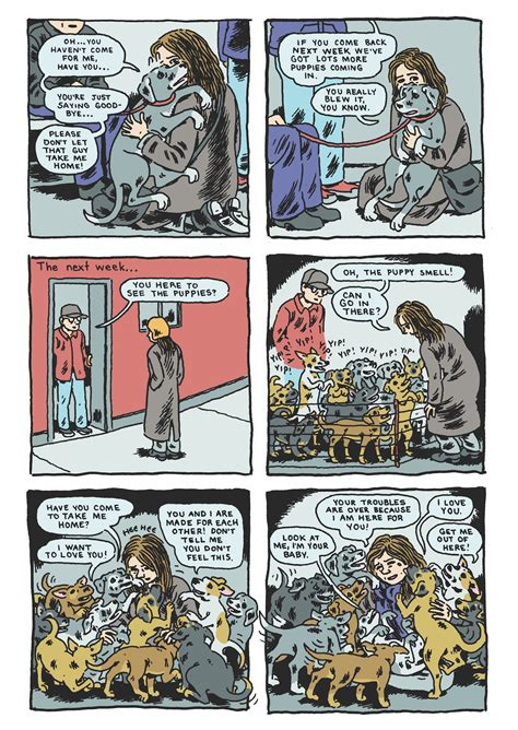 everything is combustible television the nicest dog today s comic by gabrielle bell vice