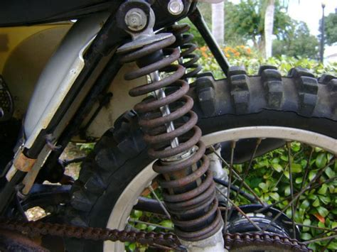 parts of a motocross bike 1974 cr 125 elsinore parts bike ahrma for sale on