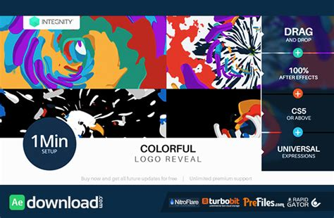 flower logo videohive free download free after colorful logo reveal videohive free download free