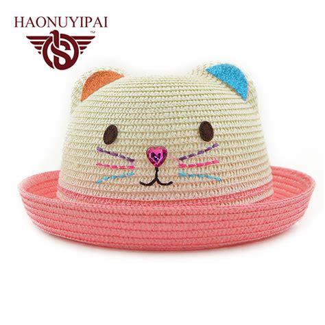 hats for children aliexpress buy brand hat straw floppy