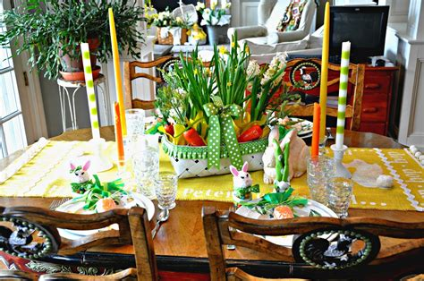 Extended Dining Room Tables serendipity refined blog easter table setting