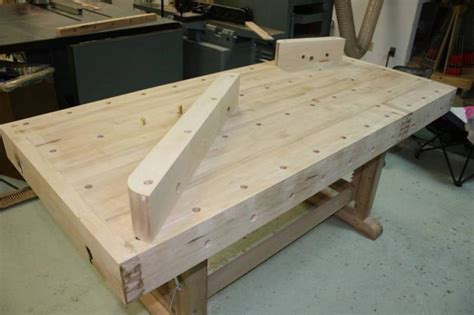 bench dog holes router jig for cutting bench dog holes