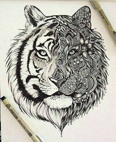 cool tiger tattoo designs tiger mandala pesquisa animals