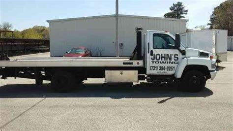 tow truck bed gmc c4500 2006 flatbeds rollbacks