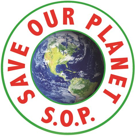 Save Our Planet s o p save our planet