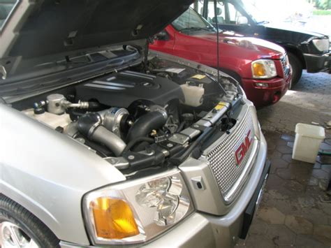 gmc envoy supercharger is a cover missing from the engine compartment page 3