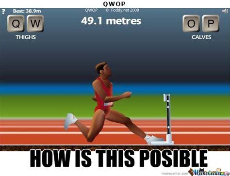 Qwop Meme - posible by obassie meme center