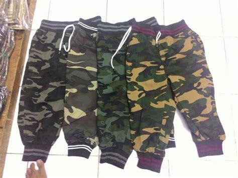 Celana Joger Loreng Army celana jogger pendek 3 4 army loreng joger pria welcome di toko cendol
