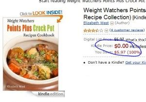 weight watchers points plus crock pot recipes cookbook now