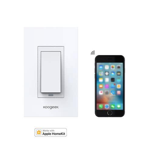 wifi enabled light switch wi fi enabled smart light switch koogeek com
