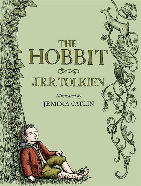 hobbit picture book the hobbit by j r r tolkien illustrated by jemima catlin