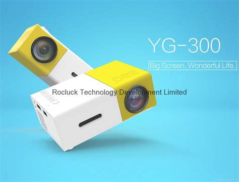 Proyektor Mini Yg300 yg300 mini pocket projector with built in lithium battery