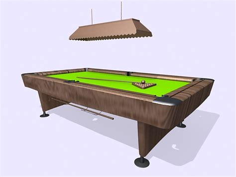 pool tables island pool table and island light 3d model 3ds max files free