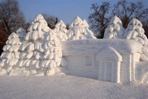 house snow snow house the of home