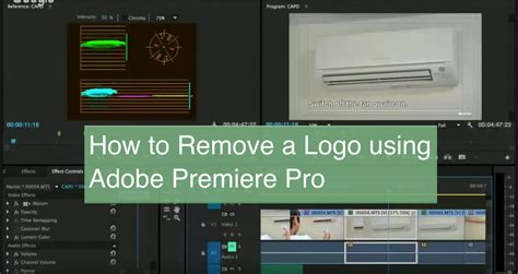 adobe premiere pro uses how to remove a brand logo from a video with adobe