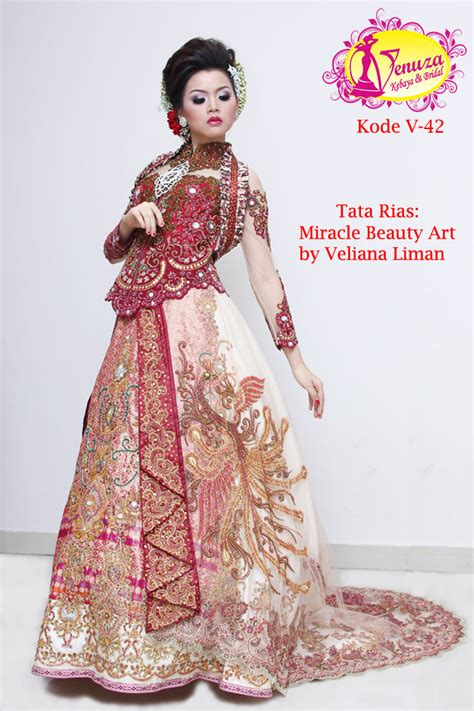 Kode Kebaya Or 03 kebaya eksklusif kode v 42 by venza kebaya wedding