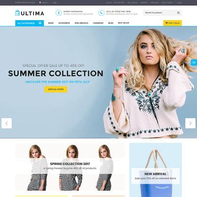 Templates Bootstrap Temas Bootstrap Templatemonster Fabric Website Templates
