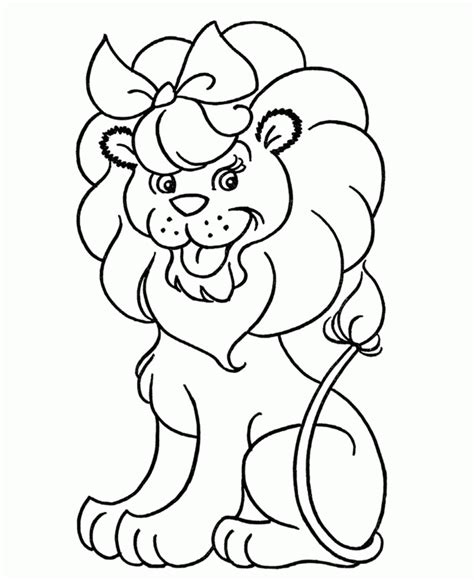 cute lion coloring pages cute lion coloring page coloring home