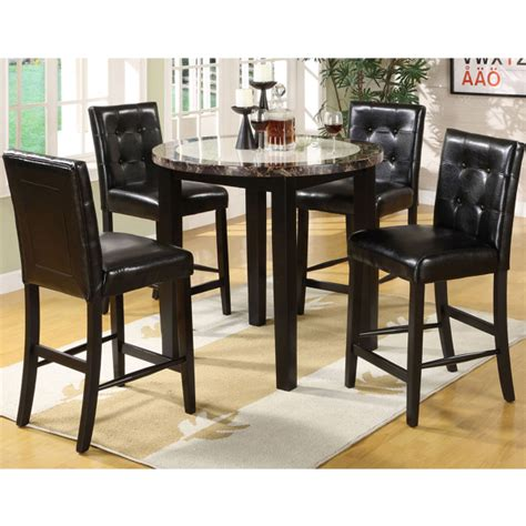 pub height kitchen table sets paulista counter height dining leisure select