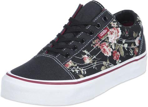 vans fiori vans skool chaussures floral black dans le shop weare
