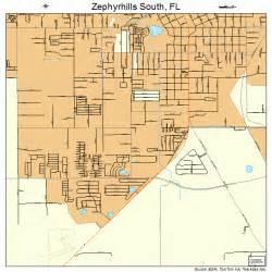 map of zephyrhills florida zephyrhills south florida map 1279237