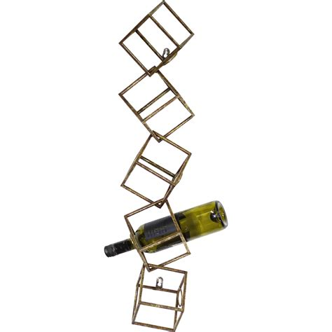 Glass Dining Room Sets gild jarrell 5 bottle wall mounted wine rack wayfair