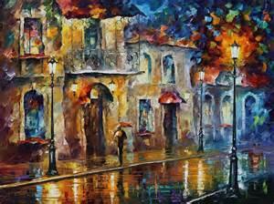 Cityscape Duvet Inspiration Of Beauty Palette Knife Oil Painting On