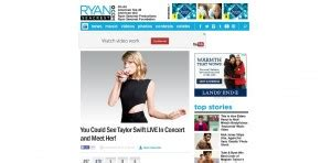 Ryan Seacrest Sweepstakes - the ultimate list of taylor swift sweepstakes