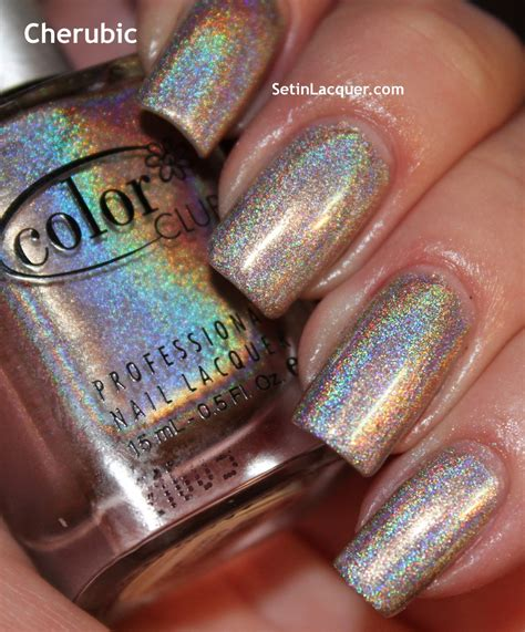 color club holographic 2012 color club halo hues holographic nail