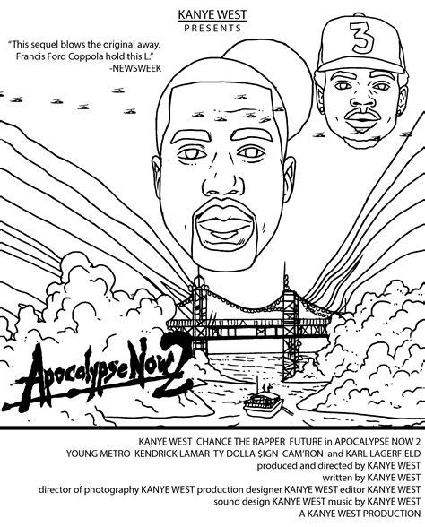 coloring book kanye west see kanye stop an asteroid take a balloon ride and more